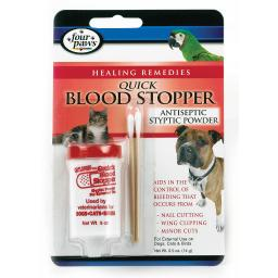 Four paws 100523273 four paws quick blood stopper powder 0.5 ounces