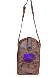 Gameday Purse Womens College Kansas State Wildcats Brass KST-P042-1 KST-P042-1