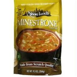 Shore Lunch B02442 Shore Lunch Minestrone Soup Mix  -6x9.3oz