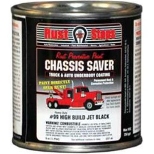 Magnet Paint & Shellac UCP99-16 8 oz Chassis Saver Paint, Stops & Prevents Rust - Gloss Black