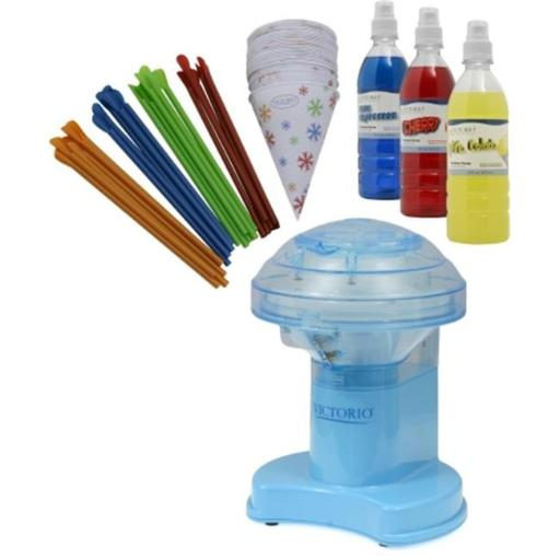 Victorio VKP1102 Snow Cone Gift Pack with Electric Ice Shaver 29B5F27F6E66F93