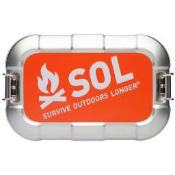 Amk 01401767 amk sol traverse survival kit w/ water purification tablets
