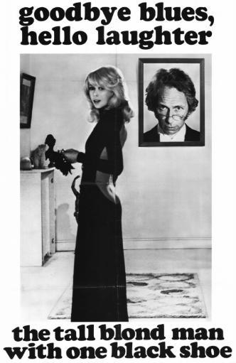 The Tall Blond Man with One Black Shoe Movie Poster Print (27 x 40) GTJ4FR9HPQWV1TZE