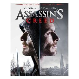 Assassins creed (2016/blu-ray/dvd/digital hd/combo) BR2310239