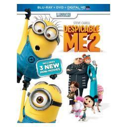 Despicable me 2 blu ray/dvd w/digital hd w/ultraviolet/2discs BR61120670