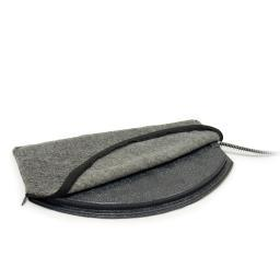 K&H Pet Products 1045 Gray K&H Pet Products Deluxe Igloo Style Heated Pad Cover Medium Gray 1045