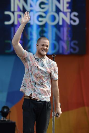 Dan Reynolds, Imagine Dragons On Stage For Good Morning America Summer Concert Series With Imagine Dragons, Rumsey Playfield In Central Park, New.