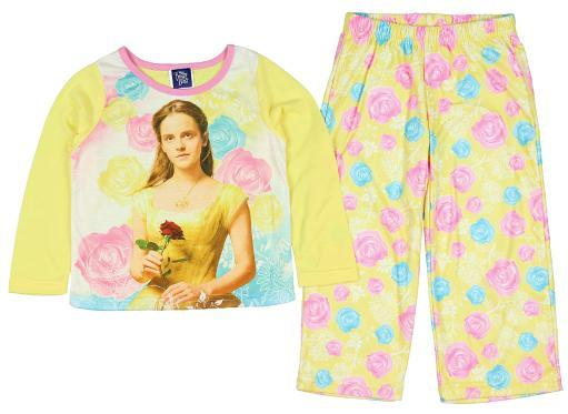 Disney Girls' Beauty And The Beast The Move Belle 2 PC Pajama Set