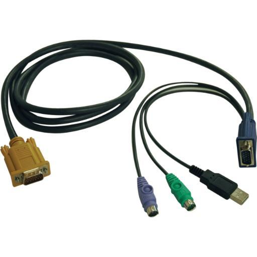Tripp Lite P778-006 6Ft Usb Ps2 Kvm Cable Kit