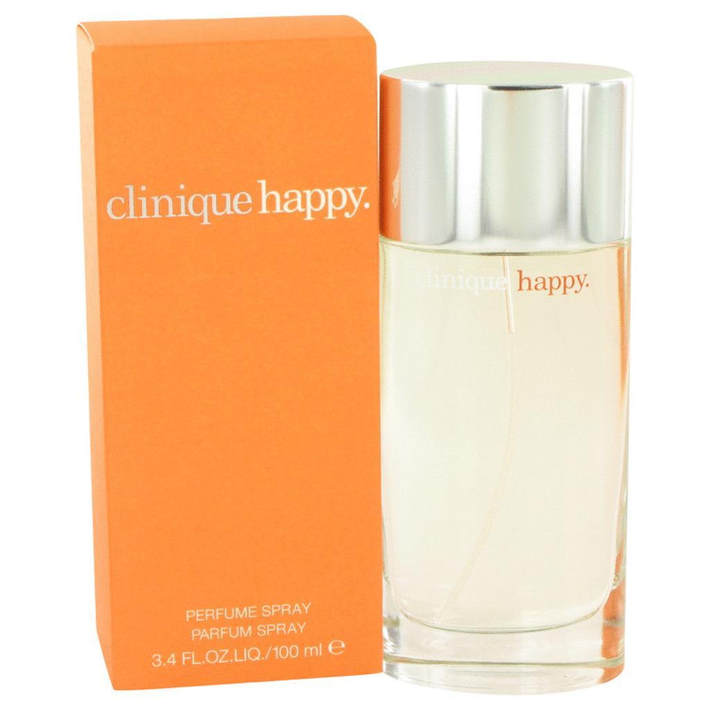 3 Pack HAPPY by Clinique Eau De Parfum Spray 3.4 oz for Women