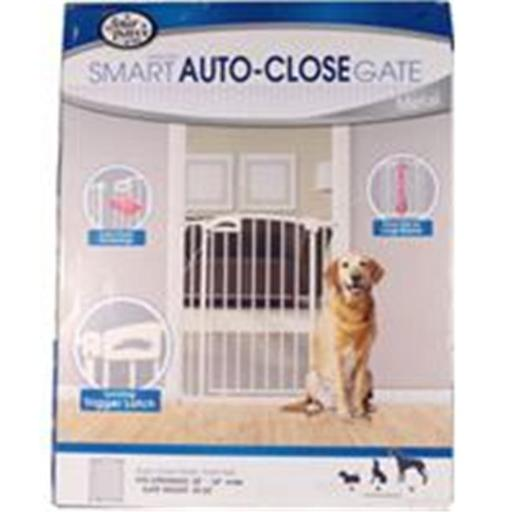 Four Paws Products 436175 Auto Closing Metal Gate Extra Tall