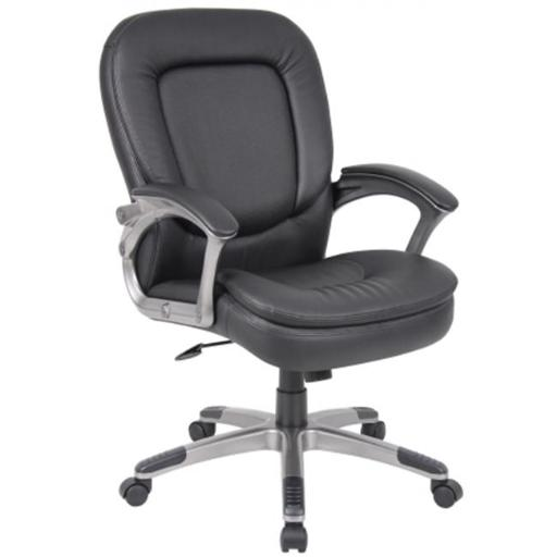 Boss B7106 Executive Pillow Top Mid Back Chair