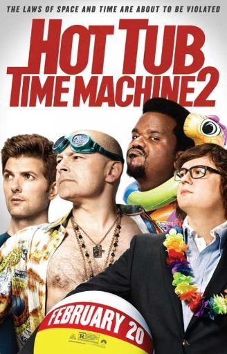 Hot Tub Time Machine 2 Movie Poster (11 x 17)