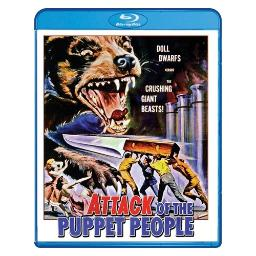 Attack of the puppet people (blu ray) (ws/1.78:1) BRSF18096