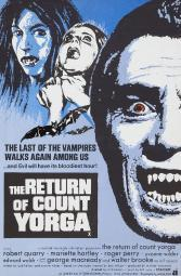 The Return Of Count Yorga Right: Robert Quarry On Uk Poster Art 1971 Movie Poster Masterprint EVCMCDREOFEC230HLARGE