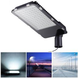 DELight 100W LED Road Street Light 12000lm 6500K IP65 Waterproof Wired Parking Lot Area Lighting Floodlight Lamp Outdoor