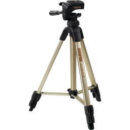 Sunpak 620-020 Tripod With 3-Way Pan Head (Folded Height: 18.5; Extended Height: 49; Weight: 2.3Lbs)