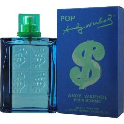 ANDY WARHOL POP by Andy Warhol EDT SPRAY 3.4 OZ for MEN ---(Package Of 5)