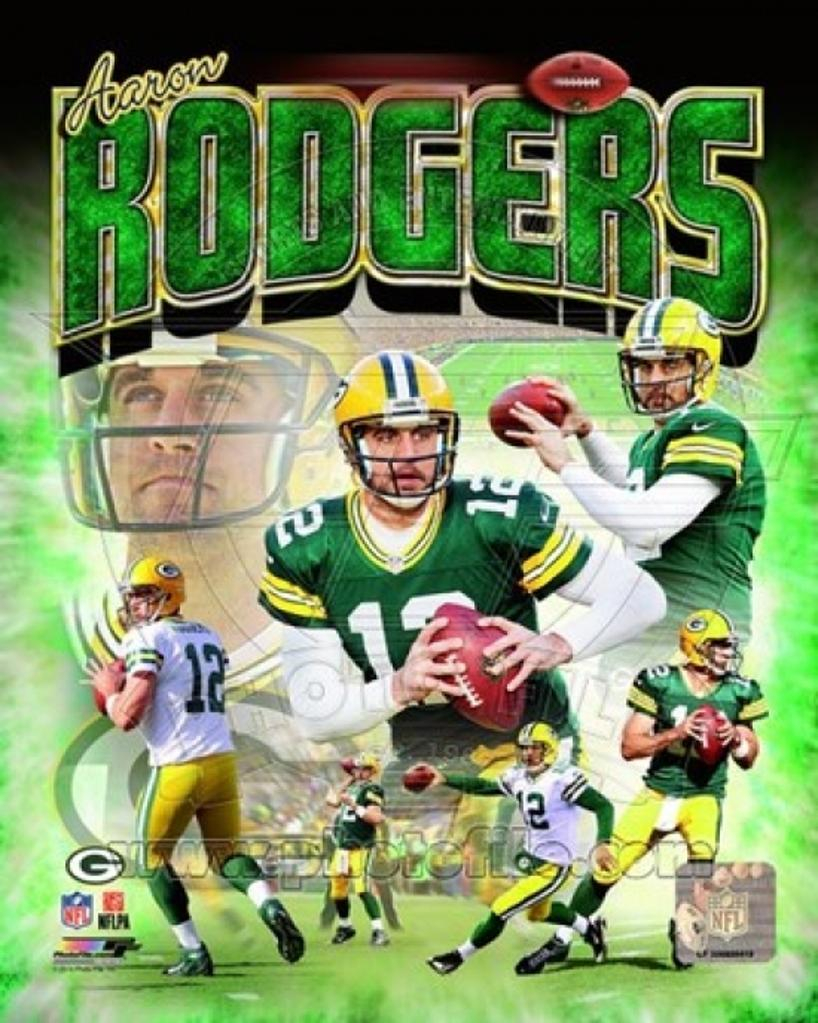 Aaron Rodgers 2014 Portrait Plus Sports Photo