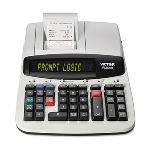 Victor PL8000 PL8000 Desktop Calculator 14-Digit Backlit Dot Matrix Prints Black