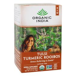 Organic India - Tulsi Infusion Stress Relieving & Gratifying Hibiscus