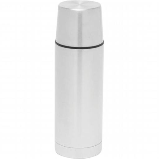 32 oz. Stainless Steel Double Wall Vacuum Bottle with Flat Cover