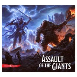 Wizkids WZK72185 Dungeons & Dragons Assault of the Giants Board Game - Standard Edition