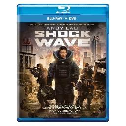 Shock wave (blu ray/dvd combo) (ws/2discs) BRCF5653