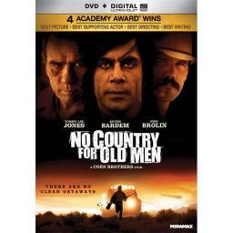 NO COUNTRY FOR OLD MEN (DVD) (WS/ENG/SP/SP SUB/FR SUB/5.1 DOL DIG/UV DIG CO 31398134831
