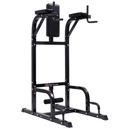 Goplus Vertical Knee Raise Stand Power Tower