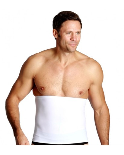 Top Quality Premium New Unisex Compression and Detox Waist Wrap Slimmer White
