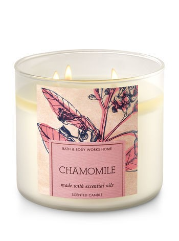 Bath & Body Works Chamomile Scented Candle 7E2A6504E26A92FC