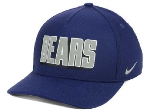 Cal Bears NCAA Nike Local Dri-Fit Swoosh Flex Fitted Hat