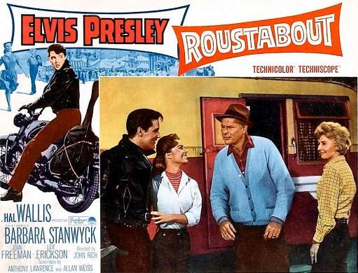 Roustabout From Left Elvis Presley Joan Freeman Leif Erickson Barbara Stanwyck 1964 Movie Poster Masterprint ECH5ZRPDWF6KMMCA