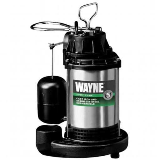 Wayne Water Systems CDU1000 1 HP Submersible Cast Iron & Stainless Steel Sump Pump