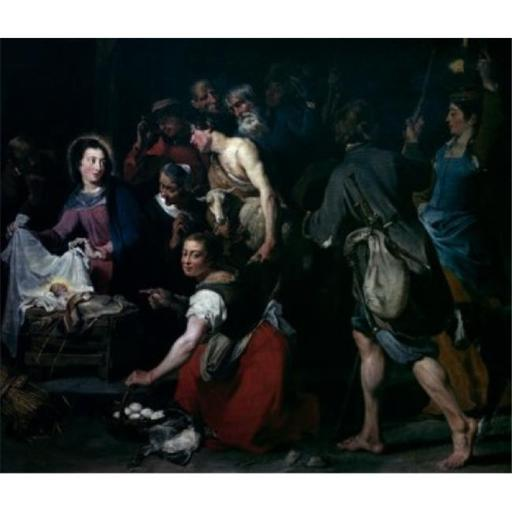 Posterazzi SAL9003419 Adoration of the Shepherds by Jan Cossiers 1600-1679 Poster Print - 18 x 24 in.