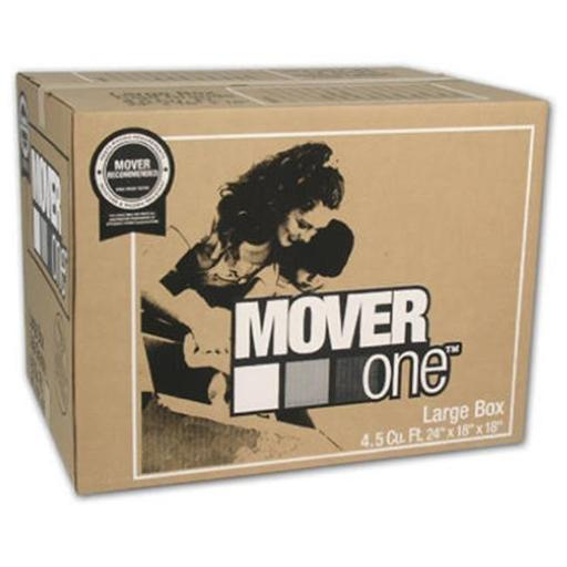 Schwarz Supply SP-903 24 x 18 x 18 in. Mover One Large Moving Box, Pack Of 15