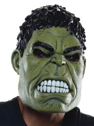 Rubie'S Costume Co Men'S Avengers 2 Age Of Ultron Hulk Adult 3/4 Mask, Green, One Size RU36246