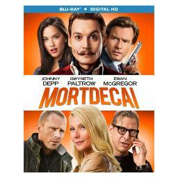 Mortdecai (blu ray w/digital hd) (ws/eng/eng sub/span sub/7.1dts-hd) BR47070