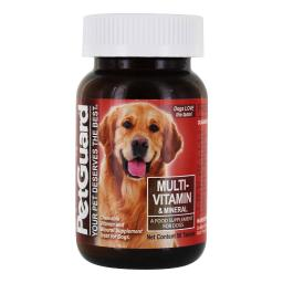 Petguard Multi-Vitamin and Mineral - For Dogs - 50 Tablets