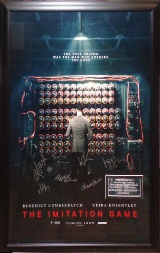 The Imitation Game - Signed Movie Poster 600753