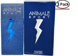 ANIMALE SPORT by  EDT SPRAY 3.3 OZ for MEN ---(Package Of 3)
