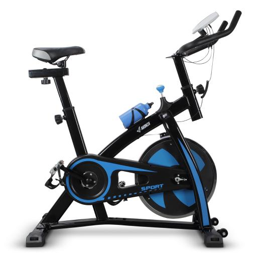 AKONZA Bicycle Cycling Fitness Exercise Stationary Bike Cardio Home Indoor, Blue