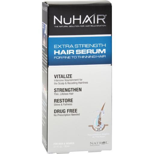 NuHair Extra Strength Thinning Hair Serum For Men and Women - 3.1 fl oz 8HQ4V0IRUKMAU49R