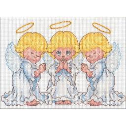 Little Angels Counted Cross Stitch Kit