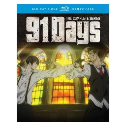 91 days-complete series (blu-ray/dvd combo/4 disc) BRCR01318