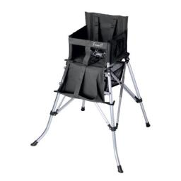 Folding Baby High Chair - Black