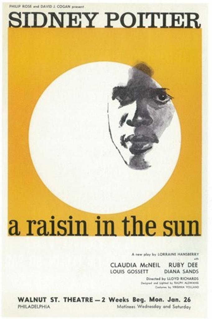 A Raisin In The Sun (Broadway) Movie Poster (11 x 17)
