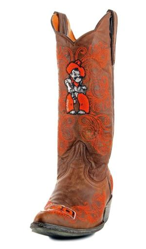Gameday Boots Womens College Team Oklahoma State Brass OSU-L004-2 1362285