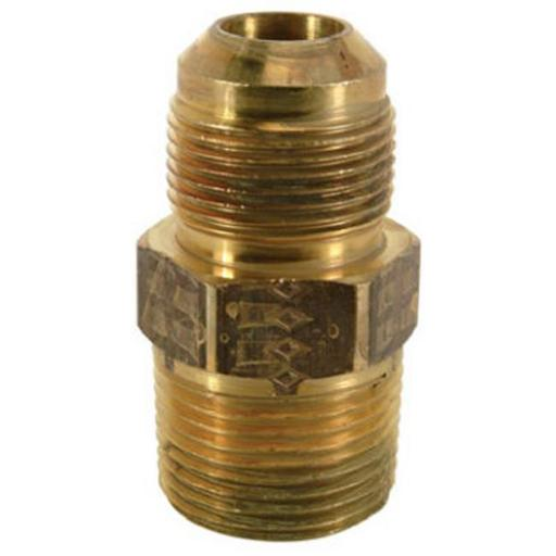 Brass Craft MAU2-10-12 K5 0.75 in, Male Pipe Thread Brass Fitting, Pack of 5